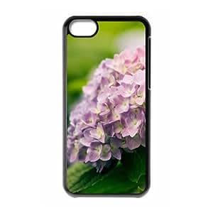 XiFu*Meiiphone 4/4s Case,Purple Flower Bunch Macro Hard Shell Back Case for Black iphone 4/4s Okaycosama351722XiFu*Mei