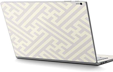 igsticker Surface Book2 Book3 15inch 専用 スキンシール サーフェス ブック 15インチ用 シール 004298 その他 模様 シンプル 白