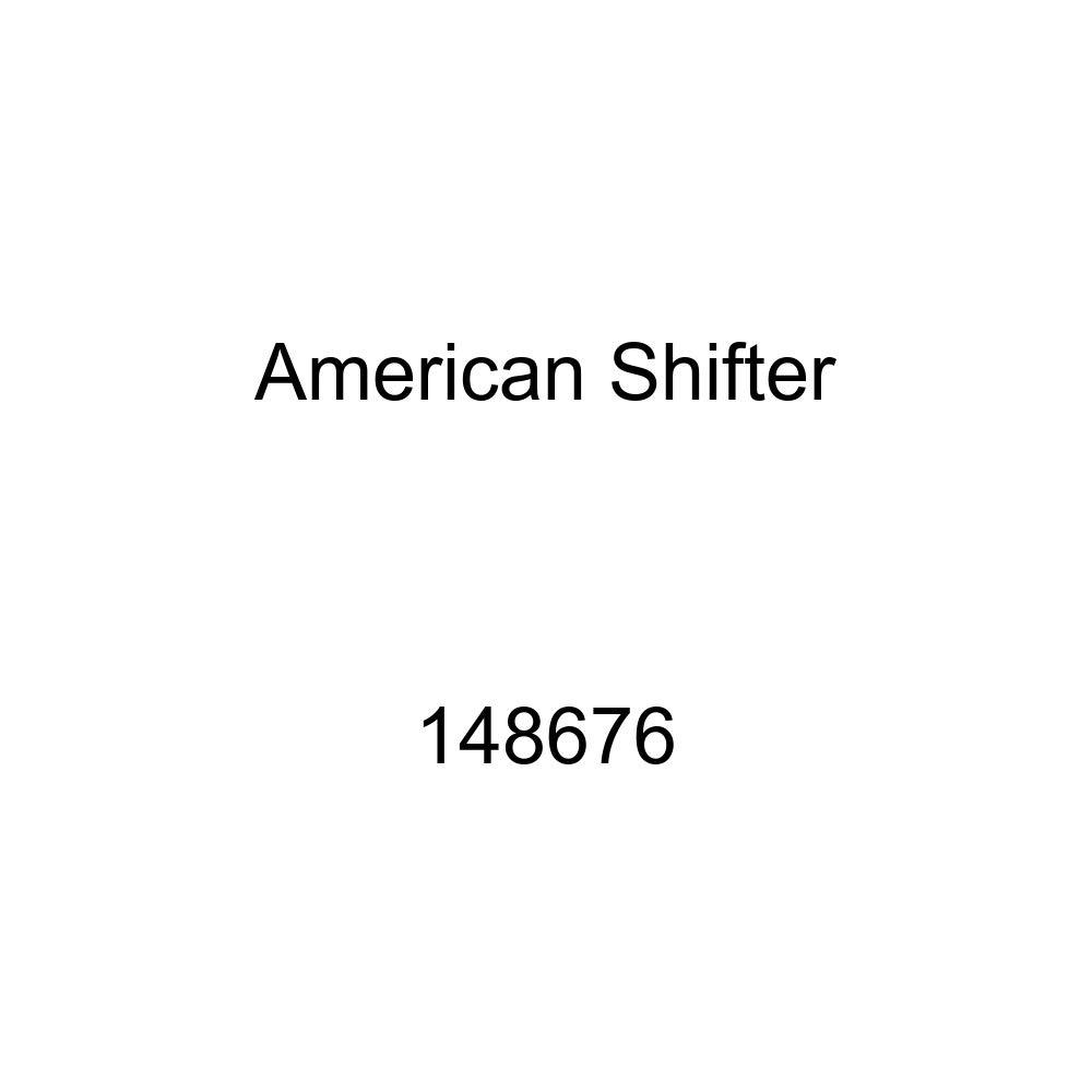 Orange Shift Pattern Fcking Fast Style 11n American Shifter 148676 Black Retro Shift Knob with M16 x 1.5 Insert