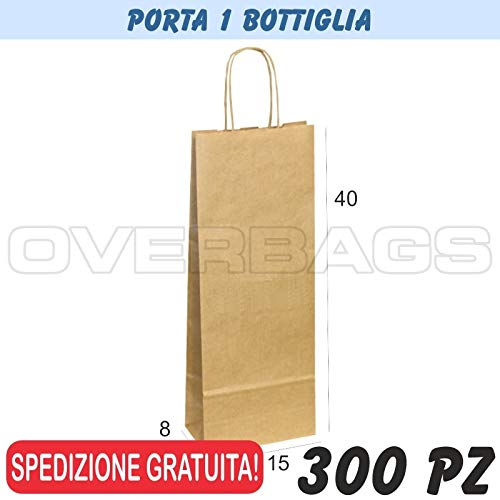 EUROFIDES/® 150 Shopper Black edition Nero Porta Bottiglia cm.10+9x39