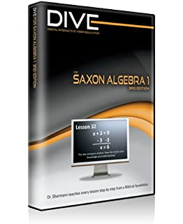 Saxon algebra 1 kit with solution manual 3rd edition john saxon dive video lectures for saxon algebra 1 3rd edition fandeluxe Choice Image