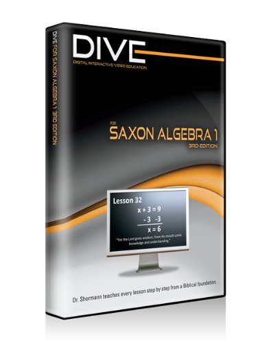 dive-video-lectures-for-saxon-algebra-1-3rd-edition