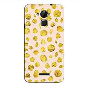 Cover It Up - Pink Gold pebbles Coolpad Note 3 Hard case