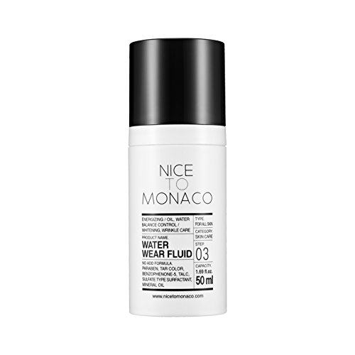 Moisturizers Balancing Moisture Lotion - [Nice To Monaco] Water Wear Fluid- lotion for Energizing, Moisturizing, Oil-Water Balancing skin (1.69fl.oz./50ml)