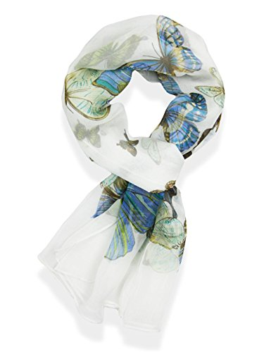 V28 Womens Butterfly Pattern Scarf product image