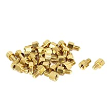 30 Pcs M4 5mm+6mm Male Female Screw Motherboard Standoffs Hex Spacers