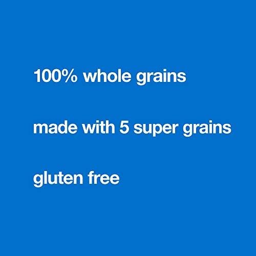 KIND Healthy Grains Bars, Vanilla Blueberry, Gluten Free, 1.2 oz, 5 Count (8 Pack)