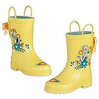 Disney Store Frozen Anna Elsa Rain Boots