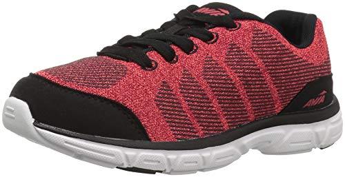 Avia Boys Avi-Rift Sneaker, red Heather/Black, 11 Medium US Little Kid
