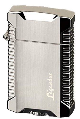 Legendex Picnicker Twin Torch Lighter 06-50-600 (Silver) (Silver Double Torch)