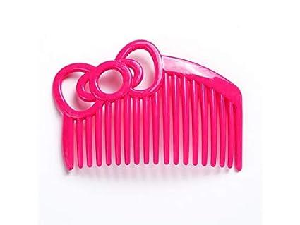 Cepillo de pelo liso Peine de arco Peine de dientes anchos Peine de peluquería Peine de