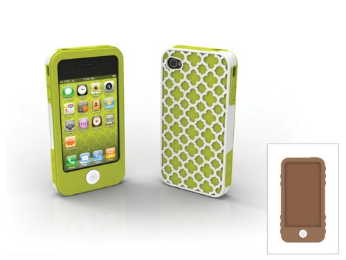 Tech Candy Jet Set Collection Barcelona 3 Piece Case Set for iPhone 4 - AT&T and Verizon ()
