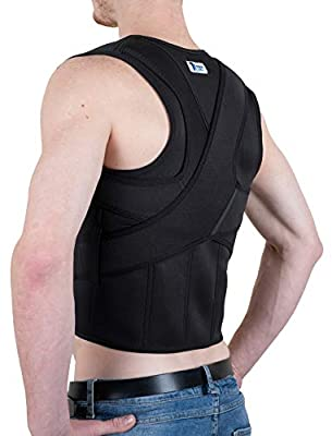 The Ultimate Posture Corrector for Women and Men | Unisex Braces Shoulders and Clavicle Support | Upper and Lower Back Supports | Body Therapy with No Pain