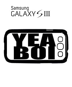 Yea Boi London Mobile Cell Phone Case Samsung Galaxy S3 White