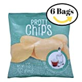 ProtiWise - High Protein Diet Chips | Sea Salt & Vinegar | Low Calorie, Low Fat, Sugar Free ( 6 Bags )