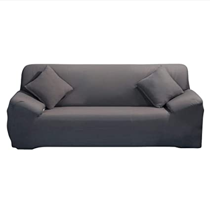 Groovy Eleoption Stretch Fabric Sofa Slipcover 1 2 3 4 Piece Elastic Sectional Sofa Cover Slipcover Protector Couch Pure Color For Moving Furniture Living Download Free Architecture Designs Salvmadebymaigaardcom