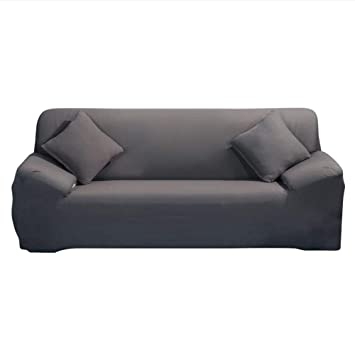 Stretch Sofa Cover - Sofa Covers Slipcover Sofa - 1-St¨¹ck 1 2 3 4 Seater  Furniture Protector Polyester Spandex Stoff Slipcover mit einer Kissenbezug  ...