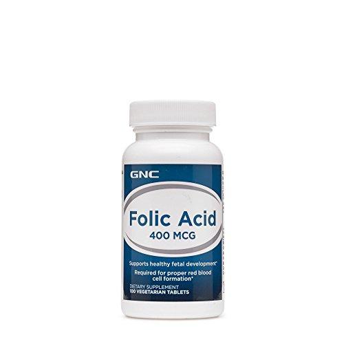 GNC Folic Acid 400 mcg (100 Tablets)
