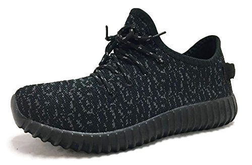 La Collezione Jill Donna Scarpe Da Ginnastica Moda Casual Sneakers In Mesh Traspirante Nere | Grigio