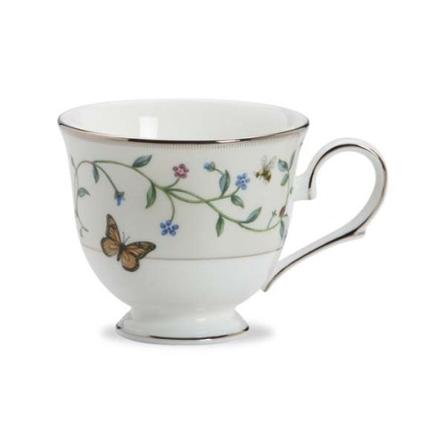 Lenox Idalia Bone China Platinum Banded Cup (China Platinum Teacup)