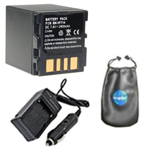Amsahr BNVF714 Digital Replacement Battery Plus Travel Ch...