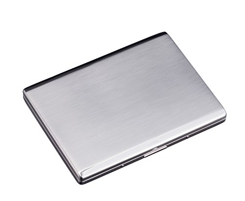 Sarome metal cigarette case EXCC5-01 SKS10 / SILVER SATIN