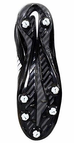 Nike Mens Vapor Speed Low TD Football Cleats Black/White 643152-010 Size 8.5