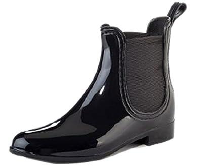 Amazon.com | Henry Ferrera Women's Clarity Waterproof Ankle Rubber ...