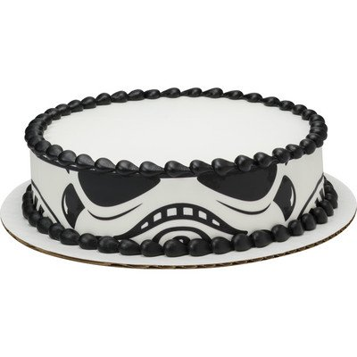 Star Wars Storm Trooper Cake Strip Licensed Edible
