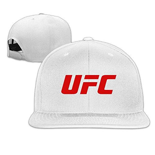 ajustable hip jane Running gorra de Gorra hop de Bill Blanco logo de z béisbol Plana UFC gorra fresno wPzwdS