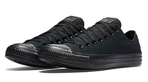 Converse AS OX CAN NVY M9697 Unisex-Erwachsene Sneaker Schwarz (Monocrom)