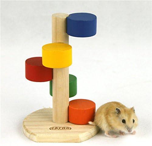 Madera hámster Escalada escalera Rata Ratón farbs Kali erung Cage Spa § de juguetes: Amazon.es: Productos para mascotas