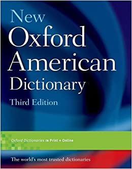 new oxford american dictionary third edition