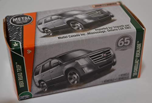 (Metallic 15 Cadillac Escalade Mattel Matchbox MBX Road Trip Series 65 Anniversary Collection 1:64 Scale Die Cast Metal Car )