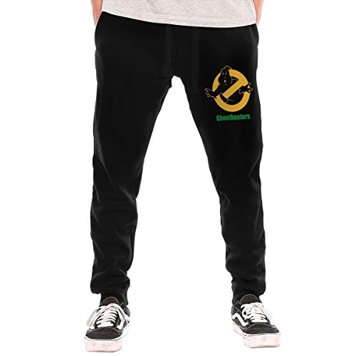 Cheny Men's Ghostbusters Logo Active Basic Jogger Pants
