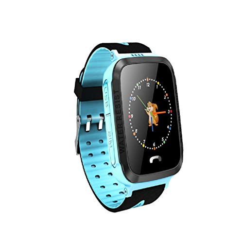 Cinhent Touch Screen Kids Smart Watch - Waterproof Y34 Anti Lost Child GPS Tracker SOS Positioning Tracking Smart Phone GPS Watch Phone/Messaging