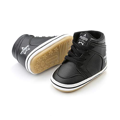 Images of LIDIANO Baby Non-Slip Rubber Sole High- Black