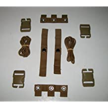 2 Sets USMC EAGLE INDUSTRIES COYOTE MODULAR TACTICAL VEST MTV SCALABLE PLATE CARRIER REPAIR KIT NSN: 8470-01-552-2467