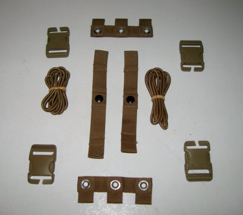 2 Sets USMC EAGLE INDUSTRIES COYOTE MODULAR TACTICAL VEST MTV SCALABLE PLATE CARRIER REPAIR KIT NSN: 8470-01-552-2467 (Eagle Industries Plate Carrier)