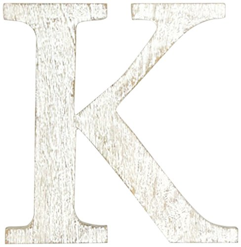 Mud Pie Wood Block Initial-K