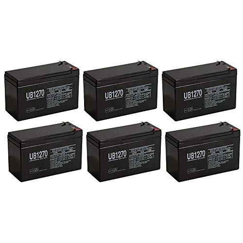 (Universal Power Group 12V 7Ah SLA Battery for Altronix AL175ULX - 6 Pack)