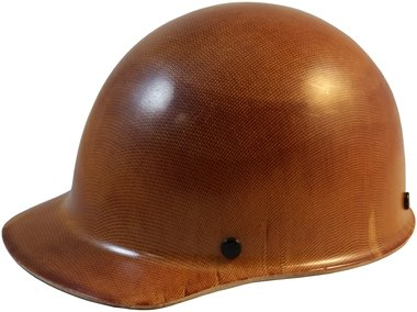 MSA Skullgard (SMALL SIZE) Cap Style Hard Hats with Ratchet Suspension - Natural Tan by MSA (Image #1)