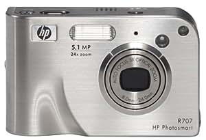 HP Photosmart R707xi 5.1MP Digital Camera with 3x Optical Zoom