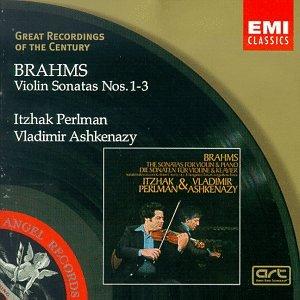Cover of Brahms: Violin Sonatas Nos. 1-3