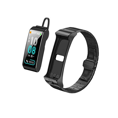 Fitness Tracker Monitor Smart Watch Sports Bracelet Blood Pressure Heart Rate Sedentary Monitoring Voice Assistant ()