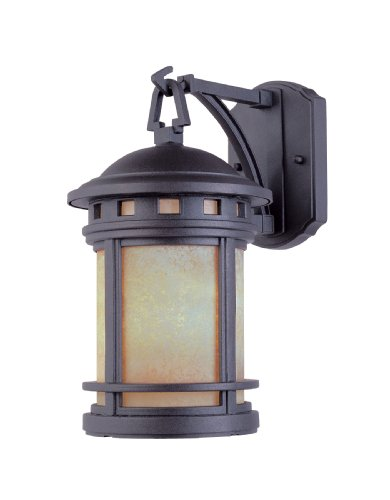 Designers Fountain 2391-AM-ORB Sedona Wall Lanterns, Oil Rubbed Bronze (3 Forward Ceiling Light Mount)