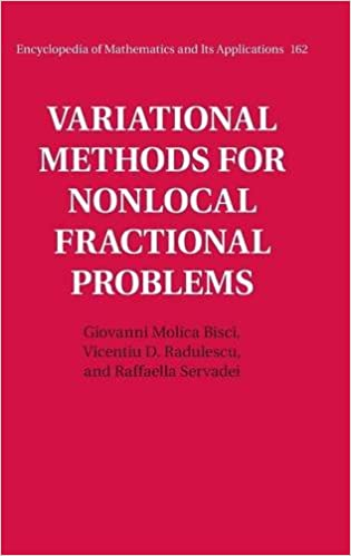 Variational Methods for Nonlocal Fractional Problems (Encyclopedia ...