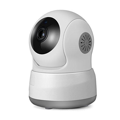 IP Cámara de seguridad inalámbrica, MixMart cámara de seguridad inalámbrica con WiFi, Baby Monitor, Cam niñera, 720P HD...