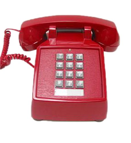 20md Desk Vba - Cortelco 250047-Vba-20md Desk Phone Valueline Red Electronics, Accessories, Computer