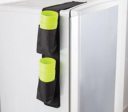 cuppin caddy - over the fridge storage organizer